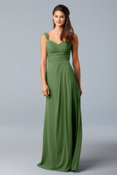 green bridesmaids dress  This would be perfect in the Apple green