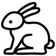 Image result for rabbit outlines