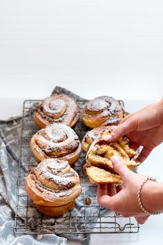 Cinnamon, Date and Walnut Brioche