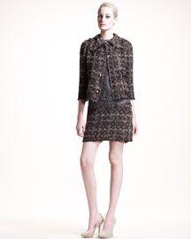 Dolce & Gabbana Long-Sleeve Lace Dress                                                                                                                                                                                                                                                                                  Original:                  1,295.00