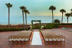 Gorgeous view for an intimate #wedding at The Westin Hilton Head Island Resort and Spa #SPGDreamWedding #SPGWeddings