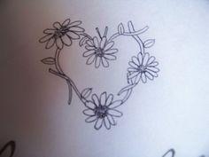 Image detail for -daisychain heart tattoo design by ~MisfitsKid13 on deviantART
