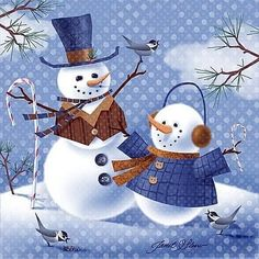 Christmas Artwork, Christmas Pictures, All Things Christmas, Christmas Candles, Winter Christmas, Vintage Christmas, Snowmen Pictures, Snowman Pics, Frosty The Snowmen