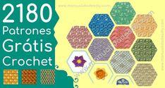 2180 Patrones Grátis de Crochet - Revista