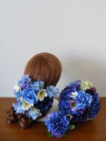 沖縄ウェディングのお写真☆ 海の色のアイテムセット♪ |Ordermade Wedding Flower Item MY FLOWER ♪ まゆこのブログ