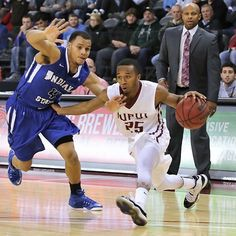11/14/14 | Indianapolis, IN: The IUPUI men's basketball team opened a new era with a new venue and new coach, hosting Indiana State on Friday.