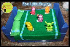 DIY: Five Little Monkeys!