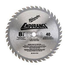 Milwaukee 8-1/4 in. x 40 Carbide Tooth Circular Saw Blade