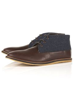 For mens fashion check out the latest ranges at Topman online and buy today. Topman - The only destination for the best in mens fashion Boat Shoes, Men's Shoes, Dress Shoes, Fashion Shoes, Mens Fashion, Glass Slipper, Desert Boots, Gq, Venice