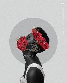 Crown in Bloom. Art via @aboutnatlife - African Origins, Fashion Art, Disney Characters, Fictional Characters, Snow White, Graphic Design, Art Prints, Portrait, Disney Princess