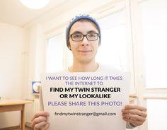 #findmyTwin #Search #lookalike