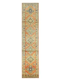 Fine Kazak Hand-Knotted Rug from Hand-Knotted One-of-a-Kind Rugs on Gilt