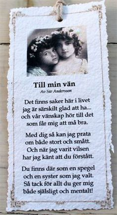 Till min vän - Diktkort Learn Swedish, Swedish Language, Powerful Quotes, Romantic Quotes, Life Advice, Wise Words, Feel Good, Texts, Qoutes