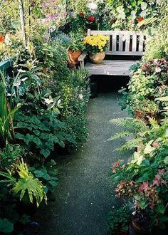 beautiful balcony garden by jana