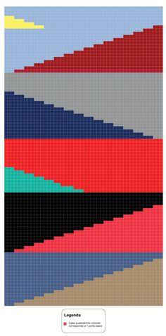Crochet Mandala Pattern, Crochet Patterns, Filet Crochet, Knit Crochet, Diy Cushion, Manta Crochet, Crochet World, Modern Crochet, Chrochet