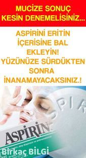 Aspirin and Honey Mask-Get Rid of Aspirin ve Bal Maskesi-Kırışıklıklardan Kurtulun You can prepare this mask in your home in 5 minutes and get rid of wrinkles. This aspirin mask will protect your skin& moisture balance while eliminating skin problems. Beauty Tips For Face, Natural Beauty Tips, Beauty Hacks, Healthy Skin Care, Healthy Beauty, Eat Healthy, Healthy Life, Best Natural Hair Products, Natural Hair Styles