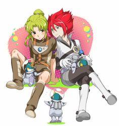 Hiroto x Midorikawa Chibi, Kariya, Eleventh, Anime Guys, Cartoon, Ares, Voltron, Manga, Zelda Characters