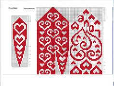 Love mittens pattern