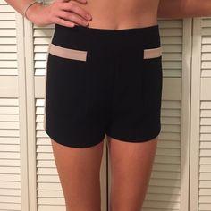 City shorts Tan borders Forever 21 Shorts