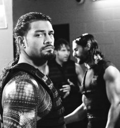 the shield - roman reigns, seth rollins, dean ambrose