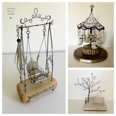 1 million+ Stunning Free Images to Use Anywhere Miniature Crafts, Miniature Houses, Miniature Dolls, Copper Wire Crafts, Metal Crafts, Miniature Furniture, Dollhouse Furniture, Sculptures Sur Fil, Wire Art Sculpture