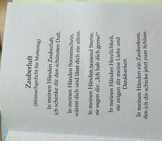 Muttertagsgedicht:
