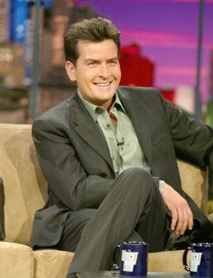 2002 (Age 37) Charlie Sheen