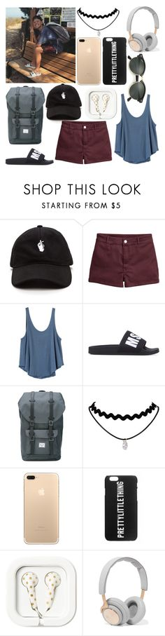 """""""Jacob Sartorius"""" by romyuitweert ❤ liked on Polyvore featuring H&M, RVCA, MSGM, Herschel Supply Co., B&O Play and Ray-Ban"""