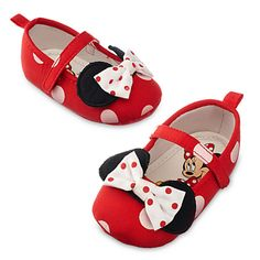 Minnie Mouse Costume Shoes for Baby - Red | Disney Store