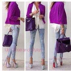 purple combinations