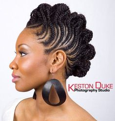 Mohawk Hairstyles 12 Braided Mohawk Hairstyles That Get Attention  Pinterest