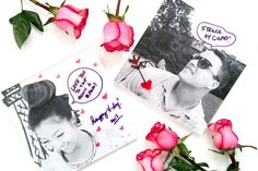 Send love notes over and over with dry erase markers and printed acrylic photo are, there also another simple Vday DIY included in post! Valentines Mugs, Valentines For Kids, Valentine Gifts, Diy Wall Art, Diy Art, Acrylic Photo, Photo Wall Art, Photo Center, Valentine's Day Diy