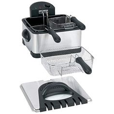 1700 Watts 4qt Electric Deep Fryer Cooker 3 Frying Baskets Kitchen Appliances * Continue to the product at the image link.