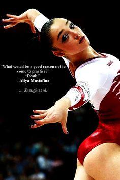 Love this quote <3, gymnast, gymnastics, moved from Kythoni's main Gymnastics board m.85.15 #KyFun