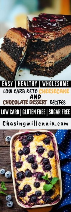 I've curated some of the best low carb dessert recipes that you are going to find. All recipes here are sugar free, gluten free & diabetic friendly. Sugar Free Cheesecake, Low Carb Cheesecake Recipe, Sugar Free Desserts, Ricotta Cheesecake, Low Carb Sweets, Low Carb Desserts, Easy Desserts, Dessert Recipes, Mexican Desserts