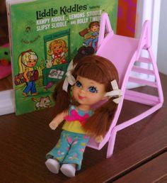 LIDDLE KIDDLES SLIPSY SLIDDLE COMPLETE SET - MY childhood favorite!