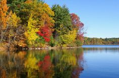 Walden Pond in early November - Concord, Massachusetts