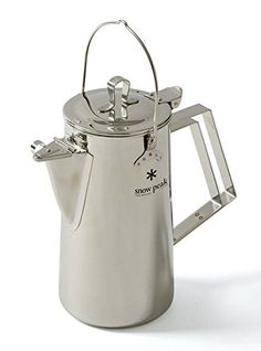 Snow Peak Men's Stainless Steel Upright Kettle, Stainless Steel, One Size ** More info @ https://www.amazon.com/gp/product/B00H95KJUU/?tag=homeimprtip08-20&pij=180816234940