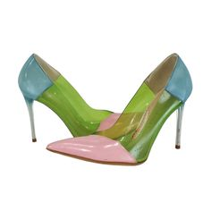 Stella McCartney - Color Block Pointed Toe