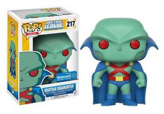 Justice League Unlimited Martian Manhunter Funko POP! Coming, Exclusive To Wal-Mart – Funko Fanatics