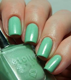 étoile new york ~ Fizzy Cucumber  (Greenwich St. Soirée collection) *Nail polish infused with Real diamond dust!