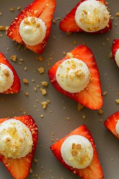 —7 Instagram-Perfect Picnic Recipes— These are delicious deviled strawberries: These look healthier than they are, given that the whip is made from cream cheese, sour cream and sugar, among other things. Still, they're pretty, easy to eat with your hands, and quick to whip up—what more could you want for your next outdoor gathering?