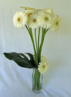 Simple Flowers Flower Arrangements Gerber Daisies 50th Wedding Anniversary