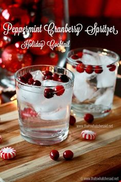 Peppermint Cranberry Drink3