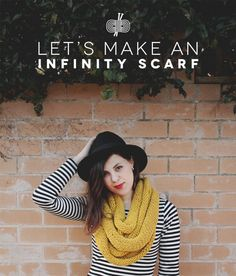 Let's Make an Infinity Scarf!