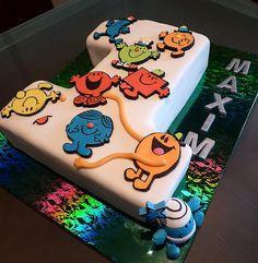 Mr Men Birthday Cake | Julie | Flickr
