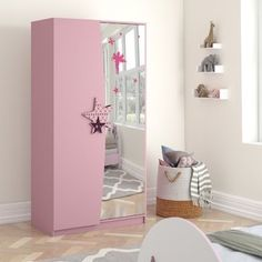 Free delivery over to most of the UK ✓ Great Selection ✓ Excellent customer service ✓ Find everything for a beautiful home Girl Bedroom Designs, Girls Bedroom, Bedroom Decor, Bedrooms, 2 Door Wardrobe, Bedroom Wardrobe, Kids Wardrobe, Childrens Room, Almirah Designs
