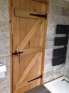 Solid Oak Ledge & Brace Doors   Oak Barn Door