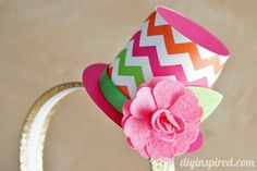 How to make a budget friendly Party Top Hat Headband DIY for costumes, birthday parties, or anytime!