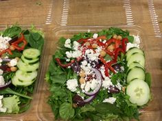 Grab and Go a Greek Salad at Mt. Abe